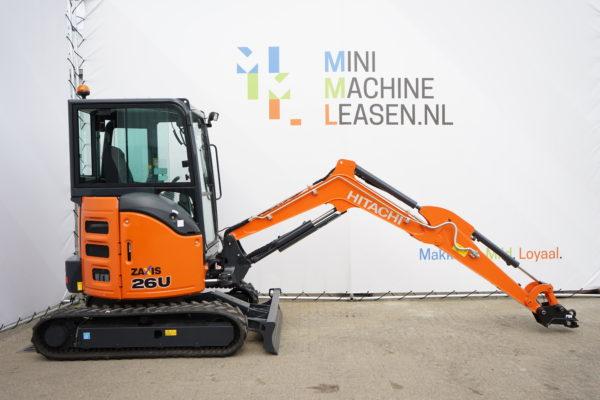 minimachine leasen